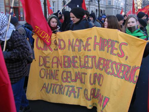 Die Demo in Berlin
