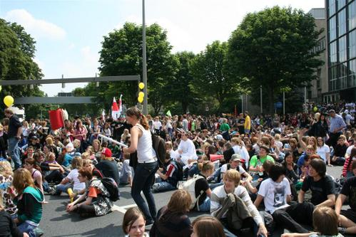 Streik am 19.06.09 in Dortmund